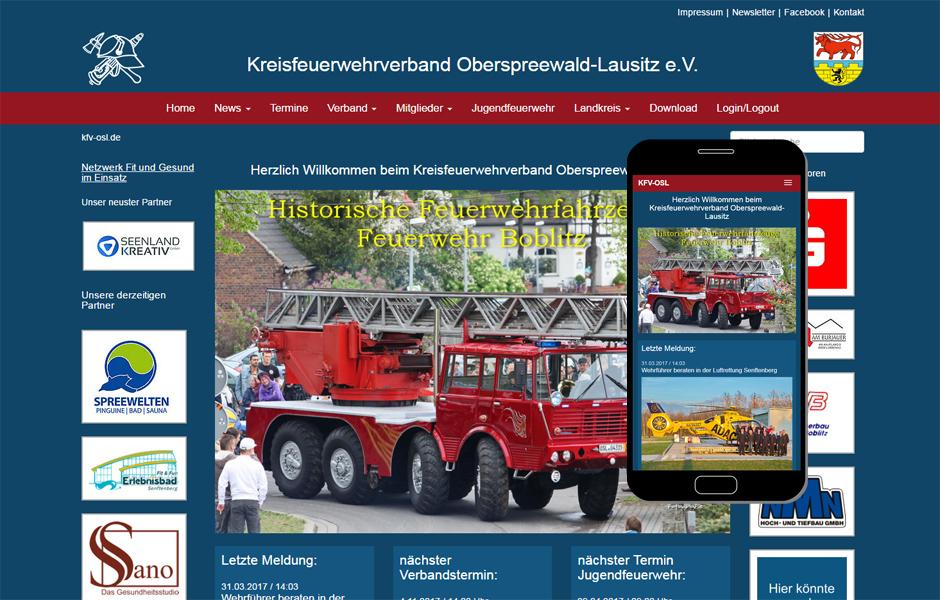 Kreisfeuerwehrverband Oberspreewald Lausitz e.V. KFV-OSL