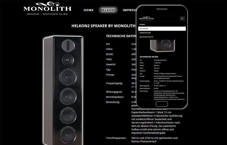 Monolith Speakers, Heidenau