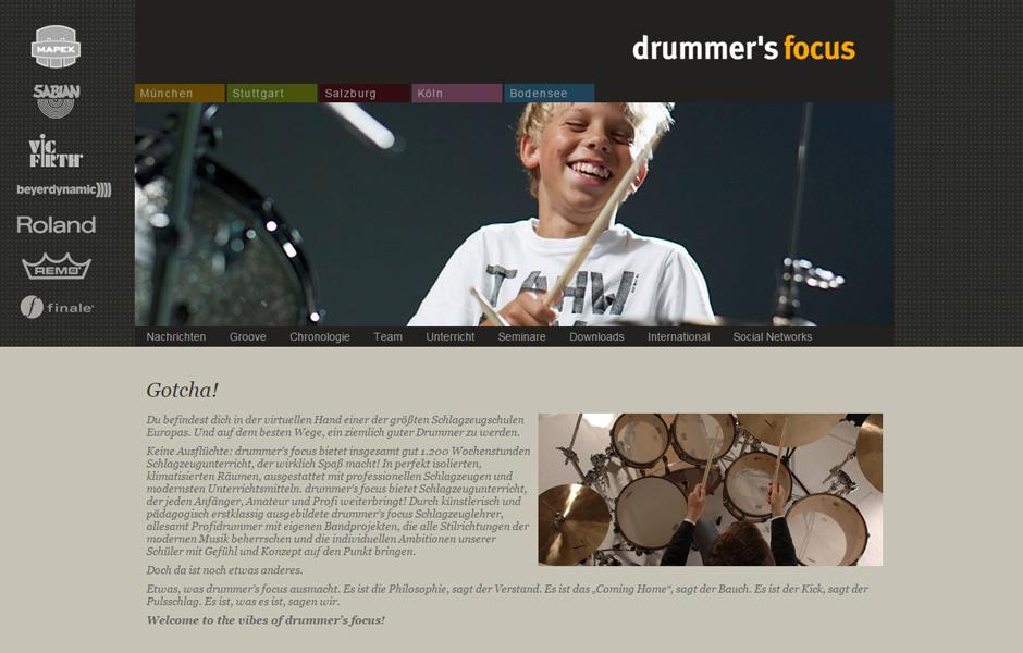 drummer's focus, München